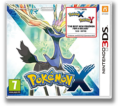 Pokémon X 3DS cover (EKJP)