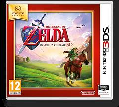 The Legend of Zelda - Ocarina of Time 3D pochette 3DS (AQEP)