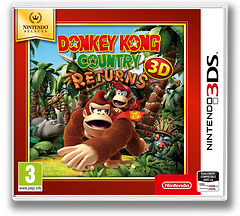 Donkey Kong Country Returns 3D pochette 3DS (AYTP)