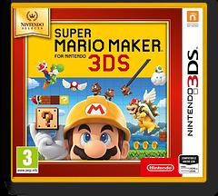 Super Mario Maker for Nintendo 3DS 3DS cover (AJHP)