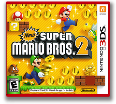 New Super Mario Bros. 2 3DS cover (ABEE)