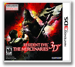 Resident Evil - The Mercenaries 3D 3DS cover (ABME)