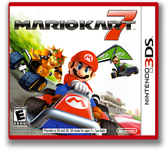 Mario Kart 7 3DS cover (AMKE)