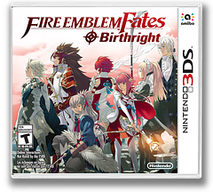 Fire Emblem Fates - Birthright 3DS cover (BFXE)
