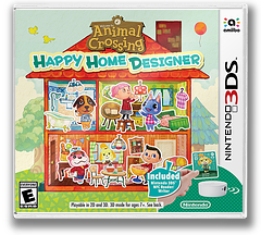 Animal Crossing - Happy Home Designer 3DS cover (EDHE)