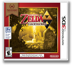 The Legend of Zelda - A Link Between Worlds 3DS cover (BZLE)