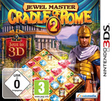 Jewel Master - Cradle of Rome 2 3DS cover (AJLP)