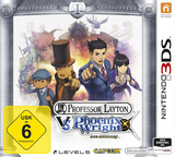Professor Layton vs. Phoenix Wright - Ace Attorney 3DS cover (AVSP)