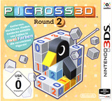 Picross 3D: Round 2 3DS cover (BBPP)