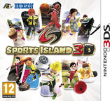 Sports Island 3D 3DS cover (ADEP)