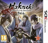 Hakuoki - Memories of the Shinsengumi 3DS cover (AH9P)