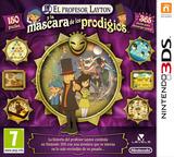 El Profesor Layton y la Mascara de los Prodigios 3DS cover (AKKS)