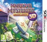 Mahjong Mysteries - Ancient Athena 3D 3DS cover (AM5P)
