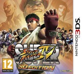 Super Street Fighter IV - 3D Edition 3DS cover (ASSP)