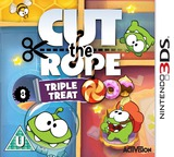 Cut the Rope - Triple Treat 3DS cover (BR3P)