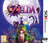 The Legend of Zelda - Majora's Mask 3D pochette 3DS (AJRP)