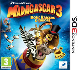 Madagascar 3 - Europe's Most Wanted pochette 3DS (AMCP)