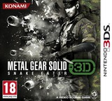 Metal Gear Solid 3D - Snake Eater pochette 3DS (AMGP)