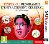 Dr Kawashima's Devilish Brain Training: Can you stay focused? pochette 3DS (ASRP)