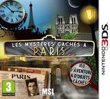 Les mystères cachés à Paris pochette 3DS (ASXP)