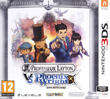 Professor Layton vs. Phoenix Wright - Ace Attorney pochette 3DS (AVSP)
