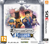 Professor Layton vs. Phoenix Wright - Ace Attorney pochette 3DS (AVSZ)