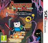 Adventure Time - Explore the Dungeon Because I DON'T KNOW! pochette 3DS (AY9P)