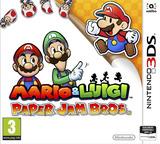 Mario & Luigi - Paper Jam Bros. pochette 3DS (AYNP)