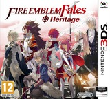 Fire Emblem Fates - Birthright pochette 3DS (BFXP)