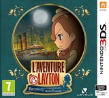 Layton's Mystery Journey: Katrielle and the Millionaires' Conspiracy pochette 3DS (BLFP)