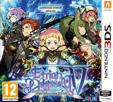 Etrian Odyssey V: Beyond the Myth pochette 3DS (BMZP)