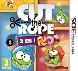 Cut the Rope - Triple Treat pochette 3DS (BR3P)