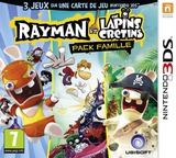 Rayman and Rabbids Family Pack pochette 3DS (BRRP)