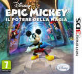 Disney Epic Mickey - Power of Illusion 3DS cover (AECX)