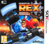 Generator Rex - Agent of Providence 3DS cover (AGXP)