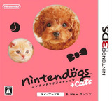 nintendogs + cats トイ・プードル & Newフレンズ 3DS cover (ADCJ)