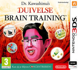 Dr Kawashima's Devilish Brain Training: Can you stay focused? 3DS cover (ASRP)