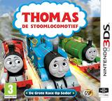 Thomas de Stoomlocomotief - De Grote Race Op Sodor 3DS cover (BTBP)