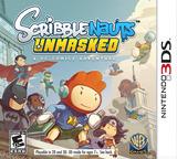 Scribblenauts Unmasked - A DC Comics Adventure 3DS cover (AD6E)