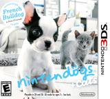 Nintendogs + Cats - French Bulldog & New Friends 3DS cover (ADBE)