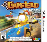 Garfield Kart 3DS cover (AGPE)