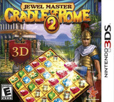 Jewel Master - Cradle of Rome 2 3DS cover (AJLE)
