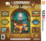 Professor Layton and the Azran Legacy 3DS cover (AL6E)