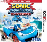 Sonic & All-Stars Racing Transformed 3DS cover (ALLE)
