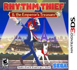 Rhythm Thief & the Emperor's Treasure 3DS cover (ARTE)