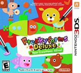 Freakyforms Deluxe - Your Creations, Alive! 3DS cover (ATQE)