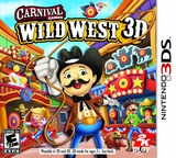 Carnival Games - Wild West 3D 3DS cover (AW2E)
