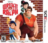 Wreck-It Ralph 3DS cover (AWRE)