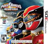 Saban's Power Rangers: Megaforce 3DS cover (AZBE)