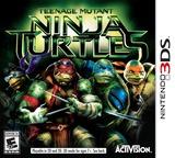 Teenage Mutant Ninja Turtles 3DS cover (BNTE)